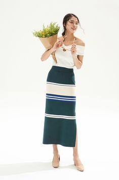 Eucalyptus Skirt - Miss Patina - Vintage Inspired Fashion