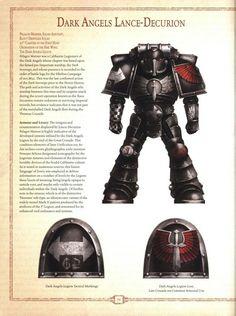 Castellan Kurze — Dark Angels from Horus Heresy Book 6 - Retribution Warhammer Lore, Warhammer 40000, Dark Angels 40k, Fallen Angels, Marine Colors, The Horus Heresy, Fantasy Fiction, Angel Of Death, The Grim
