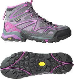 b5fe6b543415 Merrell Women s Capra Sport Mid GTX Hiking Boots Purple 10.5 Hiking Boots  Women
