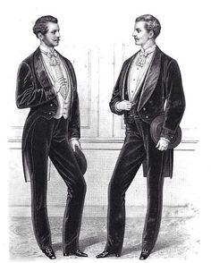 1870's evening wear