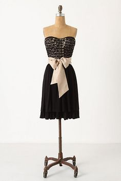 Even though it has a giant bow!... Pretty cute little black dress