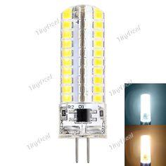 Dimmable G4 110V 220V 7W 50-700LM 80-LED SMD 2835 LED Corn Bulb Warm White Natural White HLT-515497
