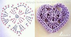#crochet hart