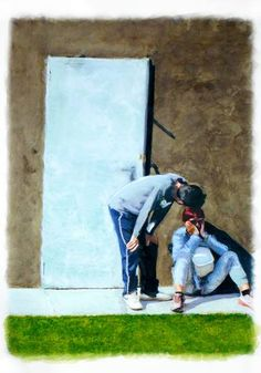 "Saatchi Art Artist Kunstbetrieb Alujevic; Painting, ""Musmozluk"" #art"
