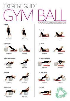 oefeningen op balansbal - Google zoeken