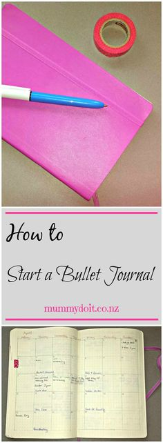 How to Start a Bullet Journal. What is a bullet journal and how to use it. Simple steps to get you started. Click to view or save to read later.