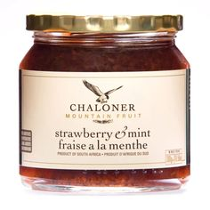 Classic slow cooked strawberry jam with the freshness of garden mint will make the perfect accent to everything from breakfast toast to scones for tea. Breakfast Toast, Nut Allergies, Good Find, Fresh Cream, Strawberry Jam, Natural Sugar, Scones, Candle Jars, Slow Cooker