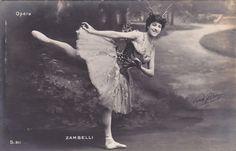 Italian Prima Ballerina Carlotta Zambelli by Paul Boyer 1906