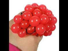 DIY -Bolinha anti-stress  (Grape stress ball)