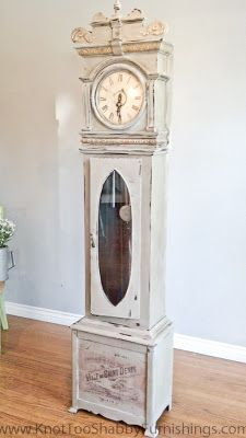 Grandfather Clocks chalk paint