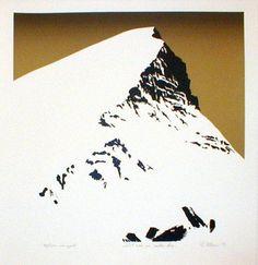 Per Kleiva, Norway Printmaking, Norway, Ivy, Scandinavian, Muse, Stencils, Mixed Media, Landscapes, Illustration Art