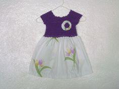 Vestido tejido  por Rebeca Romero