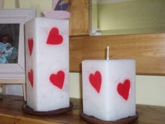 Pretty Homemade Candles | Homemade Candles