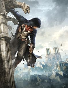 One more time, we had the pleasure to work on the pack for the next Assassin's Creed game: Assassin's Creed Unity, which is taking place in the French revolution. Assassins Creed Unity, Assassins Creed Series, The Assassin, Ghost Assassin, Arno Dorian, Assasins Cred, Geeks, Assassin's Creed Wallpaper, Game Art