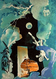 Salvador Dali, The Eternity of Love (The Tower), 1975.