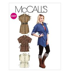McCall's 6401, Misses' Tops and Tunics
