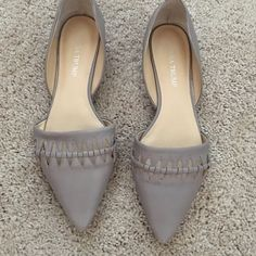 Ivanka Trump flats Gray flats, In good condition. Ivanka Trump Shoes