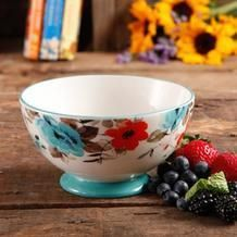 Pioneer Woman Flea Market 4 Pc Stoneware Bowl Set from Walmart USA $15.88