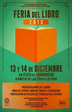 Diciembre 13 y 14: Feria del Libro Puerto Peñasco 2013 @ Plaza del Camaron