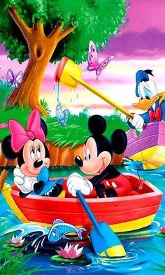 Disney Mickey Mouse, Mickey Mouse E Amigos, Mickey Mouse Cartoon, Mickey Mouse And Friends, Mickey Mouse Wallpaper, Cute Disney Wallpaper, Cartoon Wallpaper, Disney Images, Disney Art
