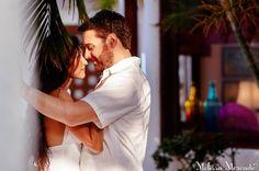 Stunning Couples Portraits & Surprise Engagement at Maroma Beach, Riviera Maya, Mexico melissa-mercado.com