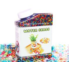 Jelly Water Beads Orbeez Grow Many Times Rainbow Mix Over 45,000 Beads  #Elongdi