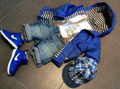 Fashion look boy kid - Nike - Catya- Zara - H&M - www.momeme.it