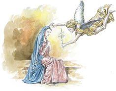 """Check out new work on my @Behance portfolio: """"Ilustração """"e o nome da Virgem era Maria"""""""" http://be.net/gallery/51807325/Ilustracao-e-o-nome-da-Virgem-era-Maria"""