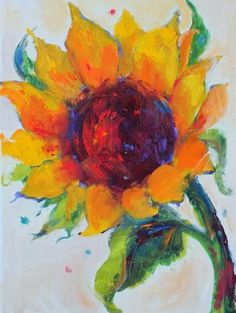 Daily Painters of Arizona: Cheerfulness, Contemporary Floral Paintings by Arizona Artist Amy Whitehouse
