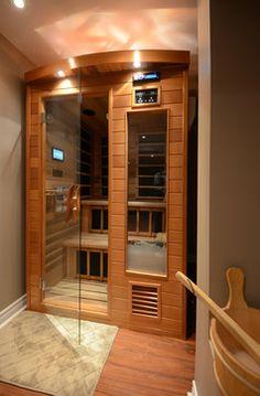 Beautiful Basement Sauna Kit