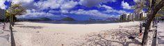Icaraí - Praia de Icaraí - Praia - MAC - Niterói - Pão de Açúcar - Cristo Redentor - Baía de Guanabara - Rio de janeiro - Brasil - Brazil
