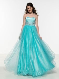 Sweetheart Appliques Beaded Long Prom Dress & colorful Prom Dresses