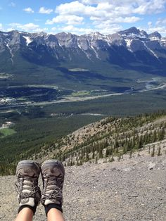 What a view hey?! Lady MacDonald, Canmore Alberta, check it out! Such a great hike!
