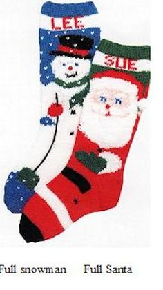 Personalized Hand Knitted Christmas stocking Order Now for 2014! Don't Wait!
