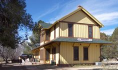 The old train depot is now the Patagonia City Hall. Trailhead for the 800 mile AZ Trail is just a few blocks away... www.arizonasunshinetours.com has DAILY service now available to Patagonia and points south. Rail service has been around since steam locomotive days, but no more!