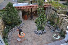 Myrna en Erik-Jan hebben een heerlijke tuin waarin zij zomers het liefst tot laat in de avond kunnen loungen. Het huis hebben ze samen goed onder handen genomen, maar de tuin is andere koek! In gezonde spanning wachten ze het bezoek van Lodewijk af.