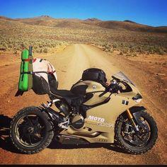 Survival Ducati #lifestyle #moto #desert