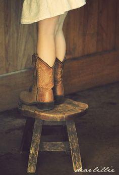 Little cowboy boots!