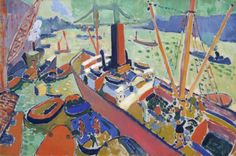 André Derain, The Pool of London 1906