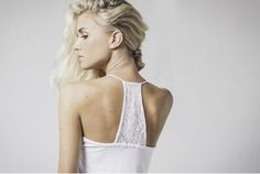 victoria lace trim sleep cami in white available now @ marceau.com.au Summer 2015, Lace Trim, Cami, Backless, Sleep, Victoria, Range, Beautiful, Dresses