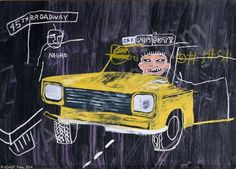View Taxi, by Jean-Michel Basquiat and Andy Warhol on artnet. Browse upcoming and past auction lots by Jean-Michel Basquiat and Andy Warhol. Jean Michel Basquiat Art, Modern Art, Contemporary Art, Pompeii, Andy Warhol, American Artists, Marketing Digital, Pop Art, Abstract Art