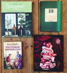 We have so many new books in our store on Gardner Street, Brighton. Here is a little #mothersday related selection. Available online soon! #gin #chocolate #plants @selinalake @bookspeed #gift #book #books #shop #shoplocal