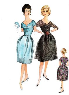 Simplicity 3662 Full Skirt or Bell Shaped by allthepreciousthings, $28.00
