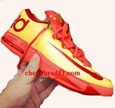 Nike KD VI Brass Bright Crimson All Star