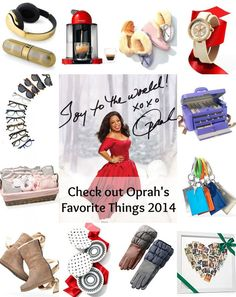 DIY Gifts   : Here are the queen of all things Oprah's Favorite Things for 2014  which