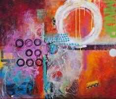 """Saatchi Online Artist: Carolina Alotus; Acrylic 2013 Painting """"Choose Pleasure"""""""