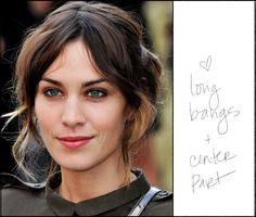 alexa chung, you are my hair hero.