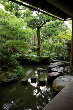 Nagamachi The site of Samurai House 長町武家屋敷跡 Garden Garden backyard Garden design Garden ideas Garden plants Landscape Architecture, Landscape Design, Koi Pond Design, Japanese Garden Design, Japanese Gardens, Japan Garden, Ponds Backyard, Koi Ponds, Water Features In The Garden