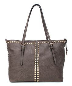 This Gray Aleesa Tote is perfect! #zulilyfinds