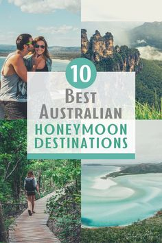 Australia is the perfect honeymoon destination. If you are looking for the best Australia honeymoon destination, don't miss checking these out. Australia really is a once in a lifetime kind of trip, which makes it the perfect place for your honeymoon. Australia Honeymoon, Visit Australia, Australia Travel, Best Beaches To Visit, Australian Photography, New Zealand Travel, Water Activities, Romantic Vacations, Honeymoon Destinations
